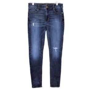 White House Black Market THE SKINNY Jeans 8